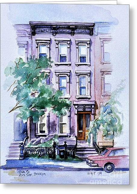 House On Tenth Street Greeting Card