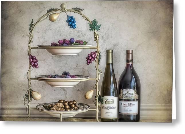 House Wine Greeting Card