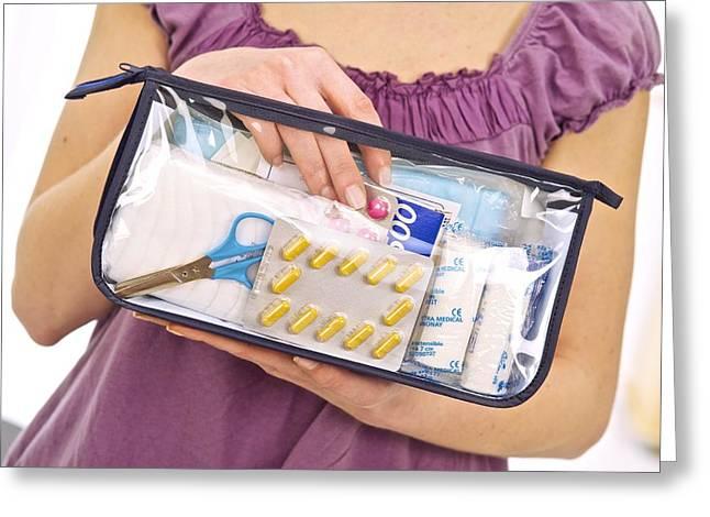 Household Medical Bag Greeting Card