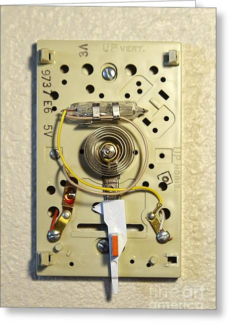 Household Thermostat, 2 Of 3 Greeting Card
