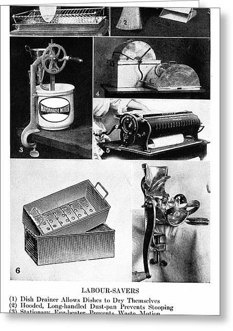 Housekeeping, 1913 Greeting Card