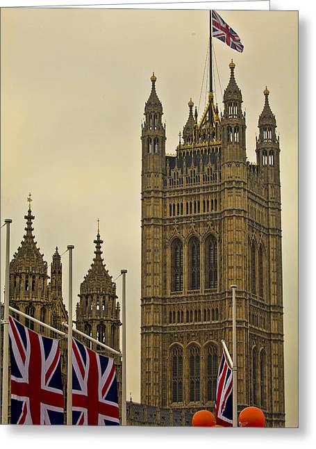 Houses Of Parliament - Royal Wedding  Greeting Card