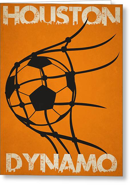 Houston Dynamo Goal Greeting Card by Joe Hamilton