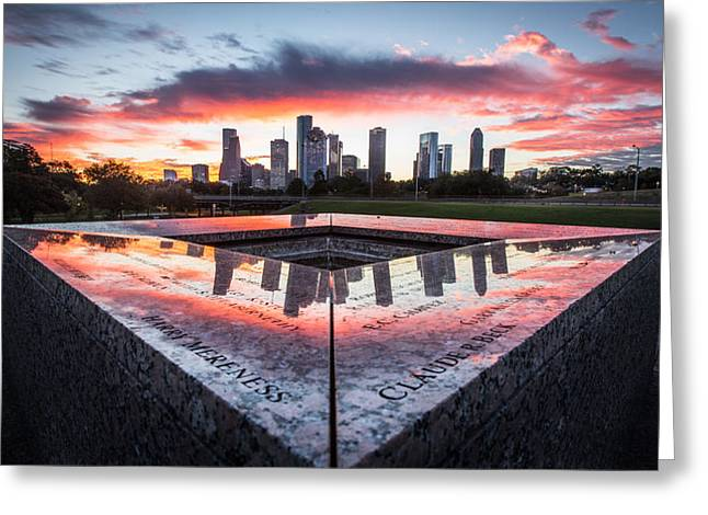 Houston Police Memorial Greeting Card