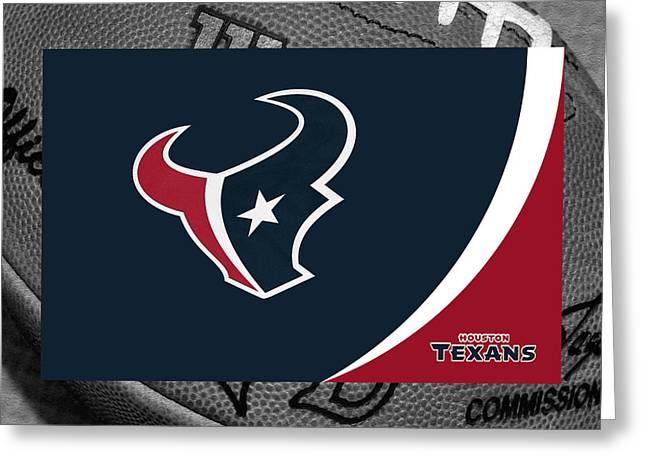 Houston Texans Greeting Card by Joe Hamilton