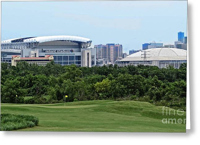 Houston Texas Greeting Card