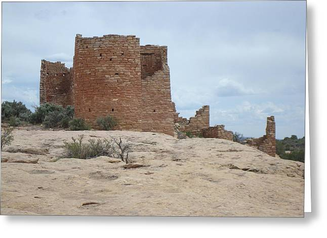 Hovenweap Castle Ruins Greeting Card