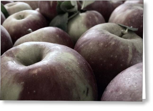 Greeting Card featuring the photograph How Do You Like Them Apples by Photographic Arts And Design Studio