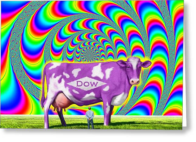 How Now Dow Cow? Greeting Card
