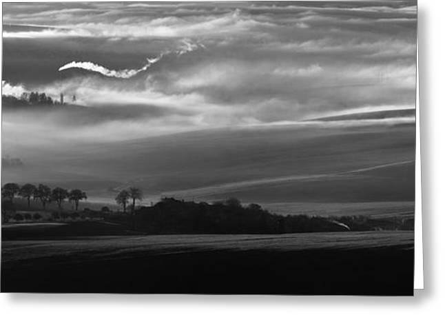 How The Mists Arise Greeting Card