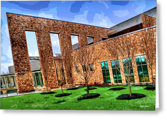 Howard County Library - Miller Branch Greeting Card