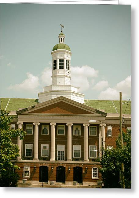 Howard University Library Greeting Card by Mountain Dreams