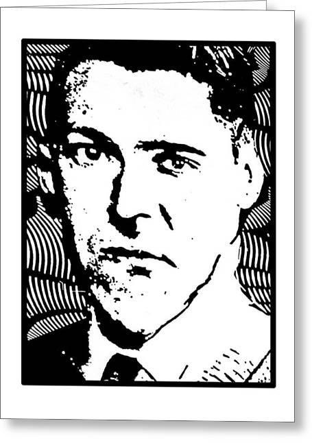 H. P. Elvis Greeting Card