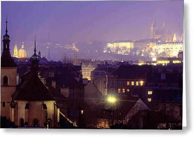 Hradcany Castle, Prague, Czech Republic Greeting Card