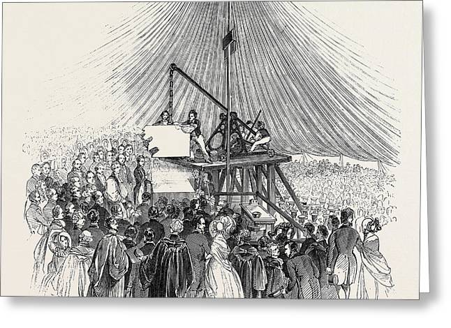 H.r.h. Prince Albert Laying The First Stone Of The New Greeting Card