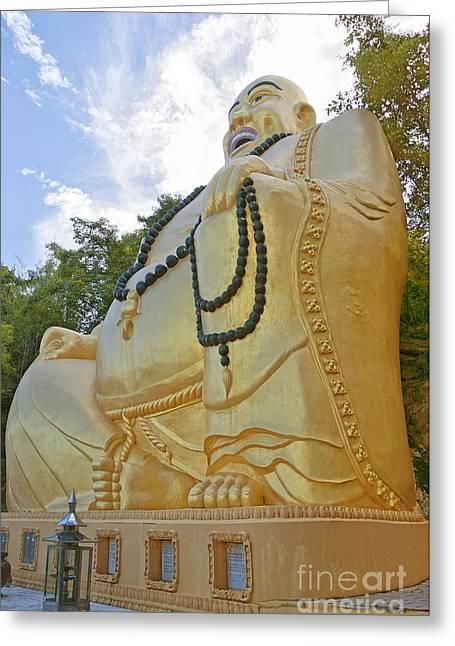Hua Hin Sitting Buddha 03 Greeting Card