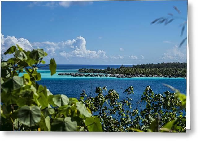 Bora Bora Horizon Greeting Card