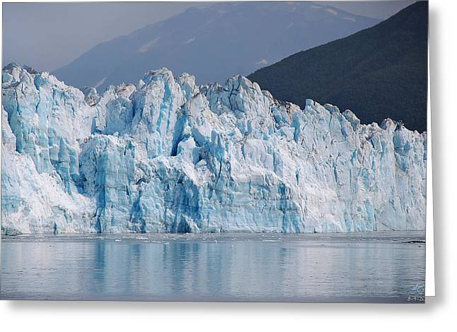 Hubbard Glacier Greeting Card