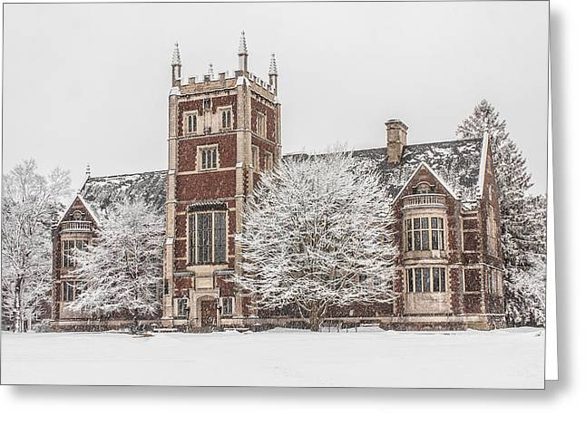 Hubbard Hall Greeting Card by Benjamin Williamson