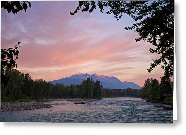 Hudson Bay Mountain British Columbia Greeting Card