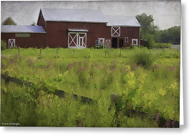 Hudson Valley Barn Greeting Card