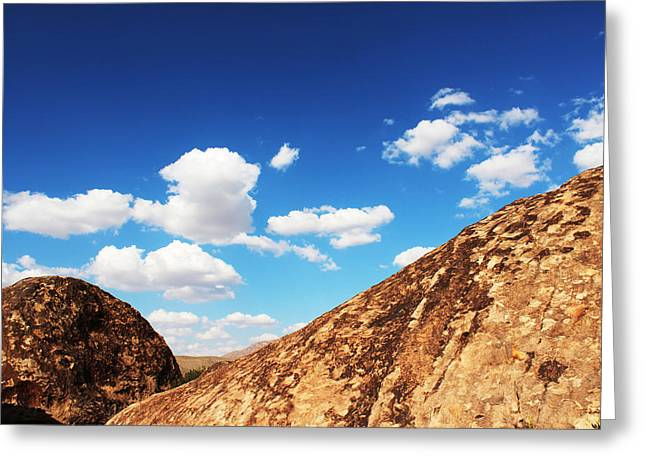 Hueco Tanks Vision Greeting Card by Chris Bohn