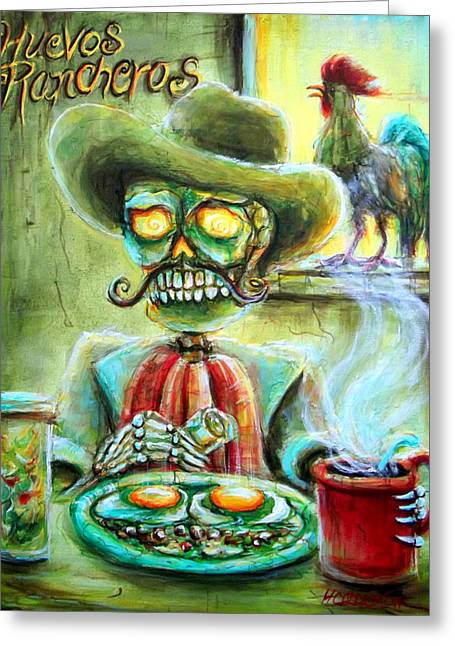 Huevos Rancheros Greeting Card