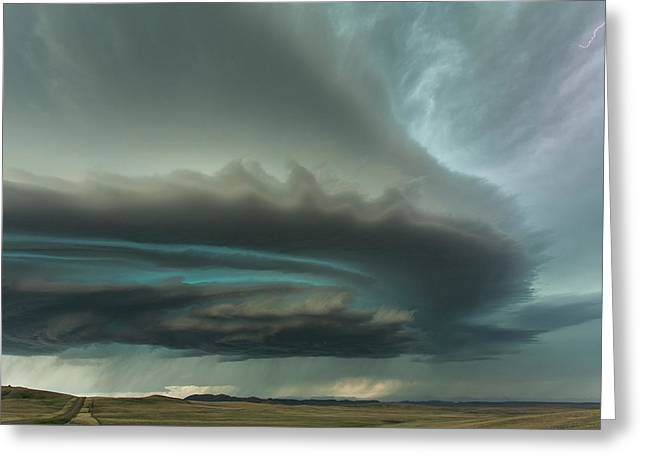 Huge Supercell Greeting Card