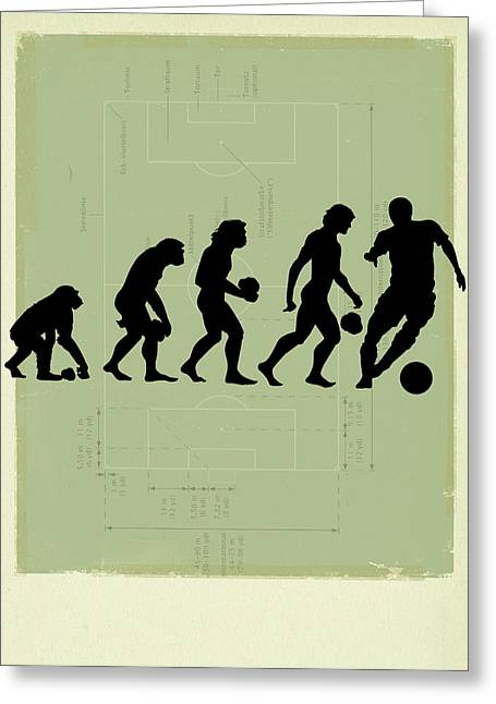 Human Evolution Greeting Card
