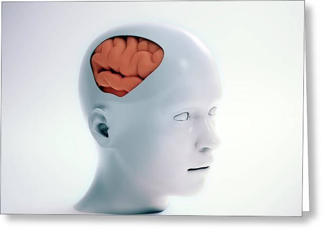 Human Psychology Greeting Card