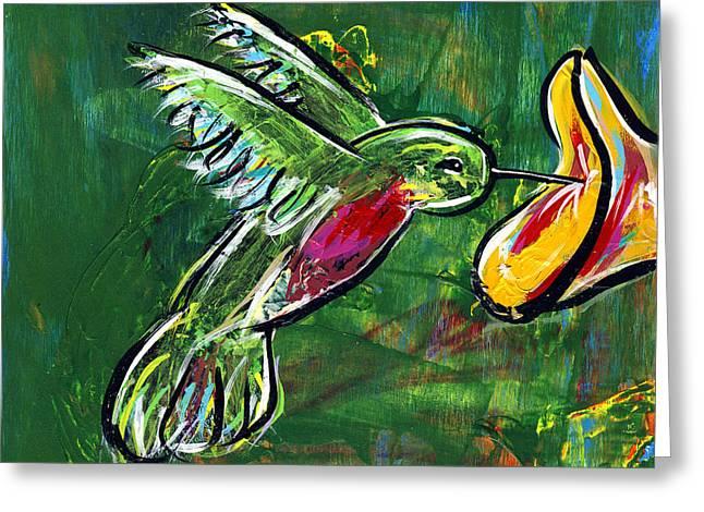 Hummingbird Iv Greeting Card
