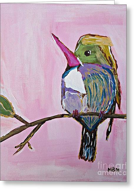 Hummingbird No. 1 Greeting Card