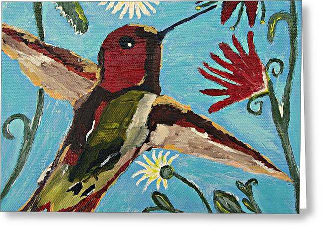 Hummingbird No. 2 Greeting Card