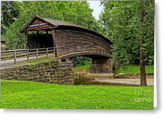 Greeting Card featuring the photograph Humpback Bridge by Brenda Bostic