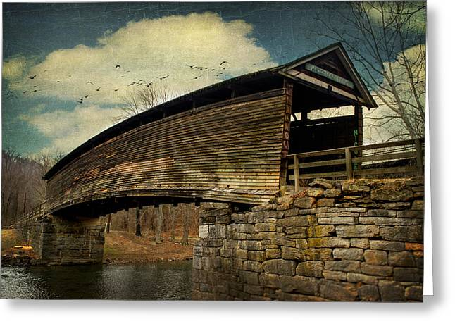 Humpback Bridge IIi Greeting Card by Kathy Jennings
