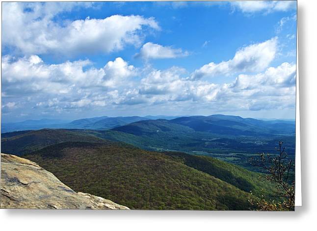 Humpback Rocks View North Greeting Card