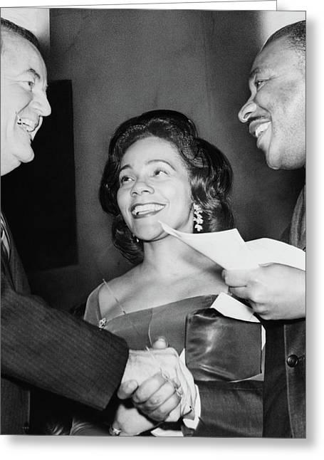 Humphrey And Kings, 1964 Greeting Card