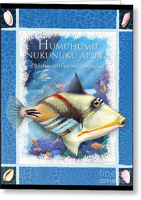 Humuhumunukunukuapua'a Greeting Card