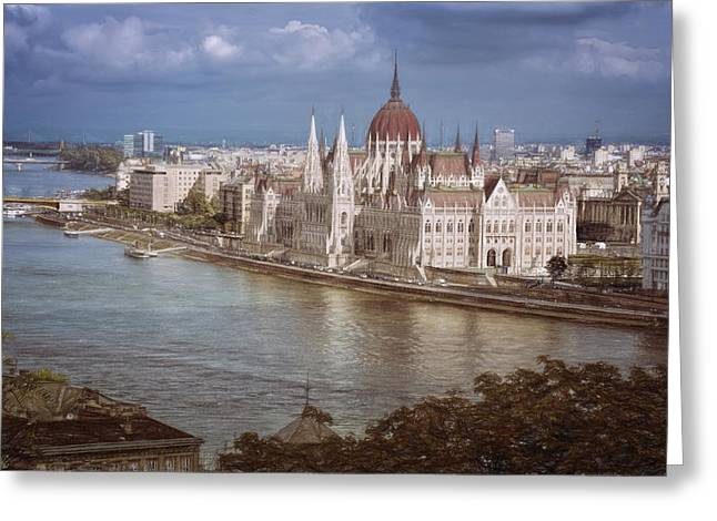 Hungarian Parliament Building Greeting Card