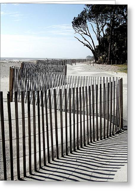 Greeting Card featuring the photograph Hunting Island - 6 by Ellen Tully