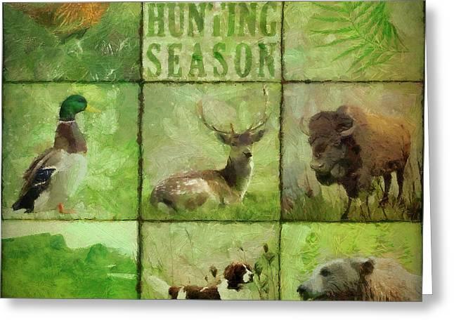 Hunting Season Greeting Card