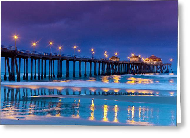 Huntington Dawn Greeting Card
