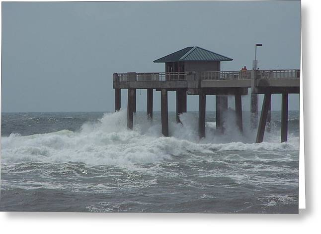 Greeting Card featuring the photograph Hurricane Rita 2 by Michele Kaiser
