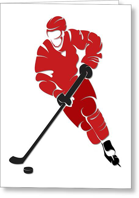 Hurricanes Shadow Player Greeting Card