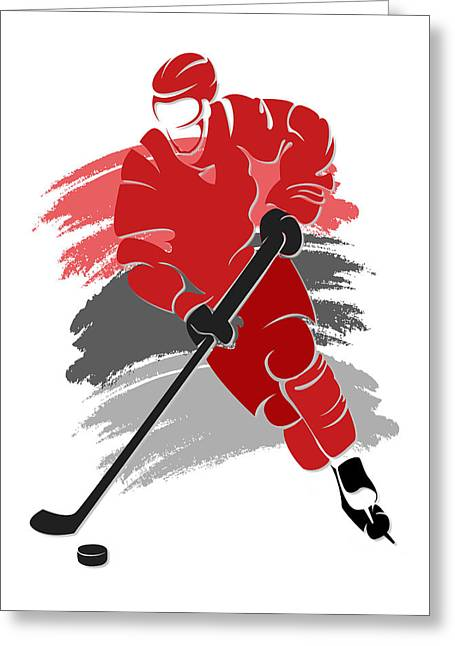 Hurricanes Shadow Player2 Greeting Card