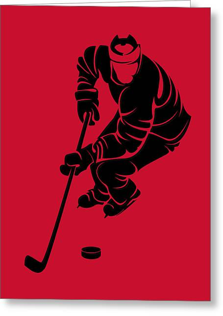 Hurricanes Shadow Player3 Greeting Card