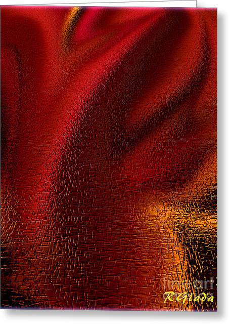 Hurt Feelings - Abstract Art By Giada Rossi Greeting Card