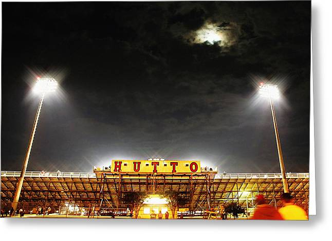 Hutto Hippo Stadium Greeting Card