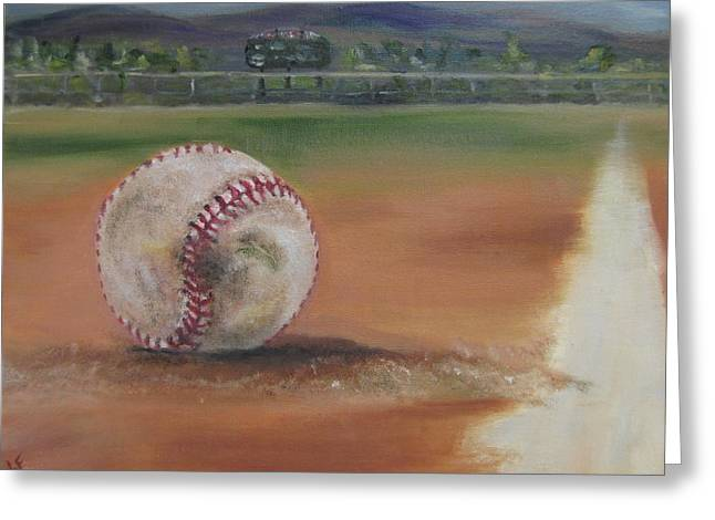 Hw Field Greeting Card by Lindsay Frost