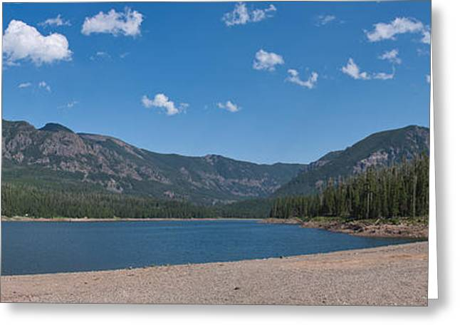 Hyalite Reservoir -- East View Greeting Card by Charles Kozierok